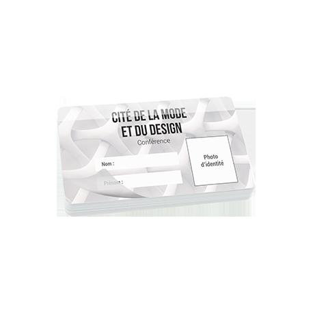 Carte impression recto + rabat adhésif pré-installé