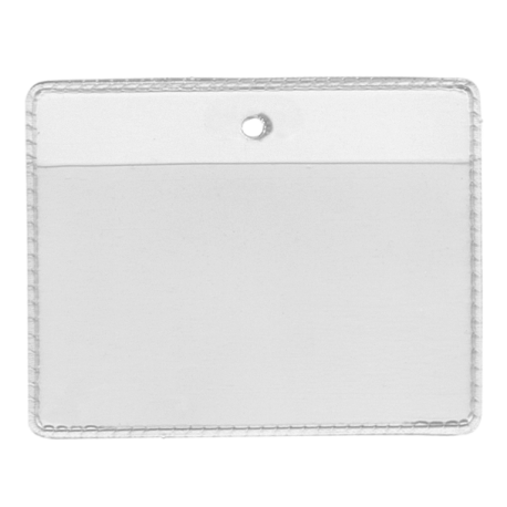 Porte Carte Souple Transparent avec Perforation ronde
