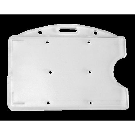 Porte-carte super rigide avec perforation
