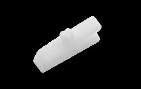 Clip pince plastique blanc