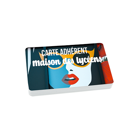 Impression fabrication carte badge standard