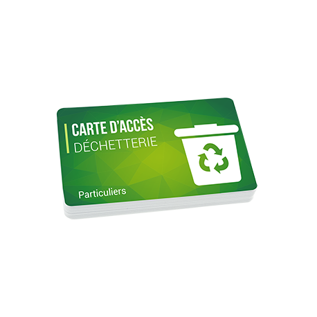 Impression fabrication carte badge ecoresponsable