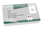 Impression fabrication carte badge enseignement ecoresponsable