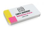 Impression fabrication carte badge association ecoresponsable