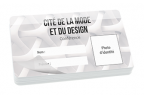 Impression fabrication carte badge événementiel ultra rigide