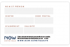 Impression fabrication carte badge économique